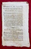 Bonaparte 1796 Armée d'Italie Ami Du Peuple Jodoigne Kehl Alsace Cours Change