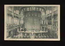 Gloucestershire Glos CHELTENHAM Ladies College interior Princess Hall pr1919 PPC