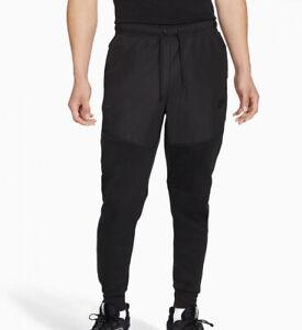 Nike Tech Fleece Woven Jogger Pants Sweatpants Triple Black CZ9901-010 Men's S