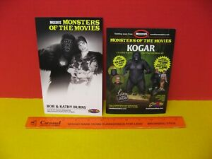 2012 MOEBIUS MONSTERS OF THE MOVIES 1/12 MIGHTY KOGAR - BOB & KATHY BURNS FIGURE