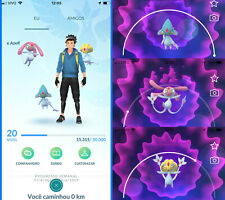 Pokemon Go Account - with LAKE TRIO !! Azelf, Uxie & Mesprit ! Safe & Cheap !!