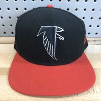 Atlanta Falcons NFL Football New Era 9FIFTY Black Snap Back Cap EUC OSFM Hat