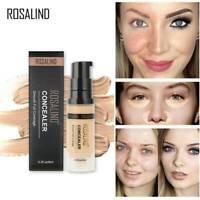 Long Lasting Face Brightening Liquid Concealer Full Coverage Foundation Cream US