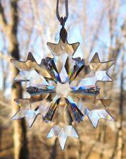 SWAROVSKI CHRISTMAS 2018 Annual Little Star Snowflake Ornament Mint & NEW IN BOX
