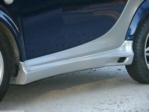 Side Skirts Smart Fortwo 450 - River Silver