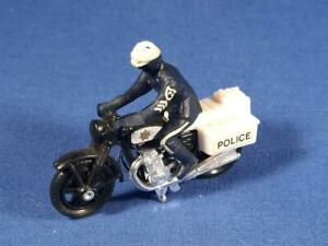 1977 Matchbox #33,  Police Motorcycle,  Gently Used Condition.