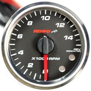 KOSO DM55 Compte-Tours Gp Style 55MM Rond For Aprilia 50 Sr Stealth LC 1997-1997