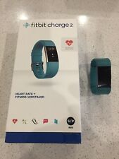 FitBit Charge 2 (Size Small, Teal Strap)