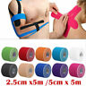 2.5cm*5m/5cm*5m  Kinesiology Therapeutic Elastic Tape Sports Gym Physio Muscles