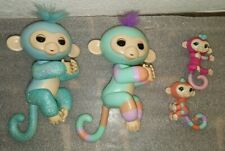Electronic Interactive Fingerling Happy Monkey Pets with  Babies Toy Lot