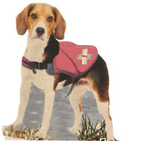Dog Life Safety Jacket Top Paw Neoprene Vest Pink Size Small 15-30 lbs New