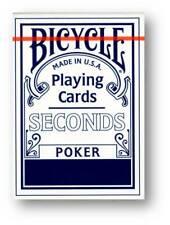 Bicycle Poker Seconds Spielkarten BLAU Poker Cardistry