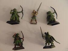 Warhammer Battle-Elfes sylvains-Gardes éternels-Déco banniere 2