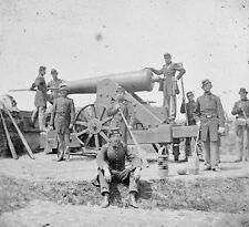 Soldiers Siege Gun Fort Corcoran Arlington Virginia New 8x10 US Civil War Photo