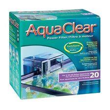 AquaClear 20 Filtro de Mochila para Acuarios, Peceras y Estanques