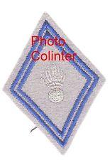 Losange mle 1945 Sous Officier  :  Matériel - 1er type fond gris plomb