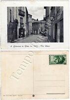 Cartolina di San Giovanni in Fiore, via Roma - Cosenza