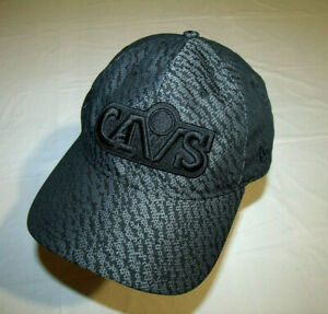 Cleveland Cavaliers Black & Gray Hat 1980s CAVS Logo New Era 9Twenty Adjustable