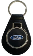 Ford Keyring Leather Fob Falcon EA EB ED EF EL AU BA BF FG XR6 XR8 Ghia Turbo V8