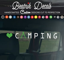 Camper Van Sticker Decal Graphic Funky Vinyl Sign Camping