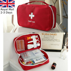 First Aid Kit Bag Emergency Medical Survival Treatment Rescue Empty Box Case