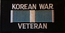 KOREA WAR VETERAN PATCH - EMBROIDERED VEST PATCH - KOREAN WAR