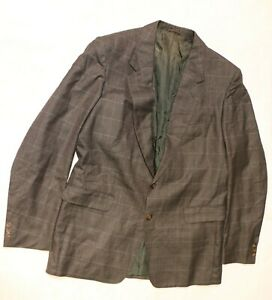 BURBERRY HERREN Sakko Gr 106 Business Jacket fein hochwertig WOLLE BURBERRYS