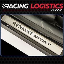 Renault Clio Sport MK4 MK3 MK2 RS Brushed Aluminim DOOR SILL Protector Stickers