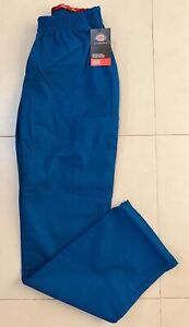 Dickies Womens Modern Fit EDS Scrub Pant Small Royal *NEW*
