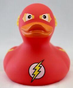 DC Comics The Flash Bath Duck Rubber Ducky