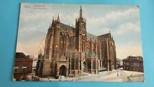 alte AK Metz - Cathedrale - La Cathédrale - Strassenbahn - Stadt