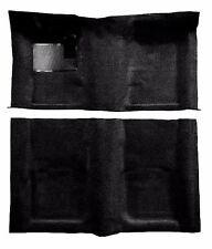 ACC 67-69 CAMARO FIREBIRD BLACK 2-PC 80/20 LOOP MOLDED CARPET FLOOR RUG USA MADE