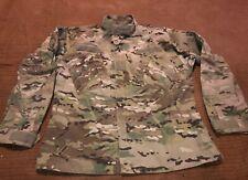 Army Camo Combat Coat/Jacket Team Soldier Flame Resistant Fr Gear SZ Medium Reg