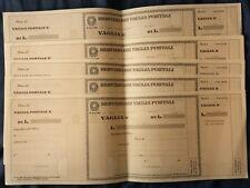 BOLLETTINO VAGLIA POSTALE LIRE 100  NUOVO PIEGA CENTRALE COME DA FOTO GUARDA