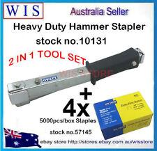 Hammer Tacker Carpet Underlay Stapler & 4 x 5000 10mm Staples,Inuslation Job