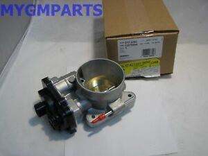 YUKON SUBURBAN AVALANCHE THROTTLE BODY COMPLETE NEW OEM GM 2003-2006  12679525