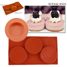 Silicone Ice Bakeware Candy Cookies Chocolate Cake Pie Baking Tart Moulds Mold
