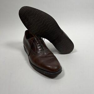 FootJoy Mens Dark Brown Leather Dress Golf Shoes Size 10 - 10.5?