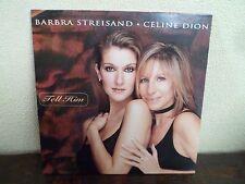 CD Single - CELINE DION & BARBARA STREISAND - Tell him - 1997