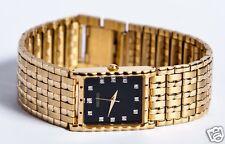 Seiko Men's (Seiko Diamond Collection) Black Dial Watch SNF232