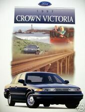1997 Ford Crown Victoria sedan new vehicle brochure