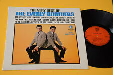 EVERLY BROTHERS LP VERY BEST 1°ST ORIG UK 1965 MONO ! TOP RARE LAMINATED COVER