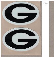 Georgia Bulldogs FULL SIZE FOOTBALL HELMET DECALS W/STRIPE