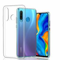 Huawei P30 Lite Crystal Hülle Transparent Cover Durchsichtig Case Cover