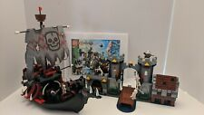 Lego Skeleton Ship Attack (7029) Fantasy Era Rare Castle Set Knights Complete