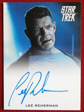 STAR TREK: INTO DARKNESS - LEE REHERMAN, LIMITED EDITION Autograph Card