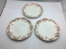 LIMOGES FRANCE Dessert Plate set of 3