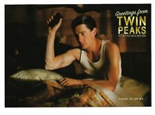 TWIN PEAKS GOLD BOX POSTCARD #22 DALE COOPER AT THE GREAT NORTHERN POST CARD