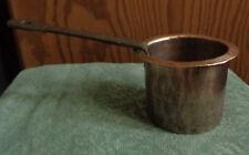 antik FRANKREICH kleiner Kupfertopf Schüssel PATISSERIE Handarbeit ~1800-1850