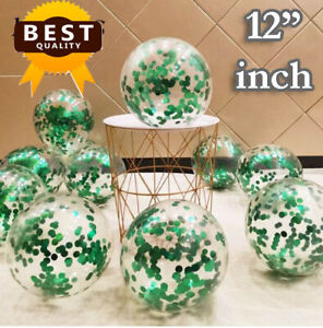 """20 Pack Confetti Balloons Latex 12"""" Decorations Helium Birthday Party Wedding"""